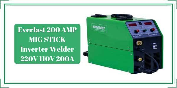 Everlast MIG 200 Review - MIG STICK Inverter Welder 220V